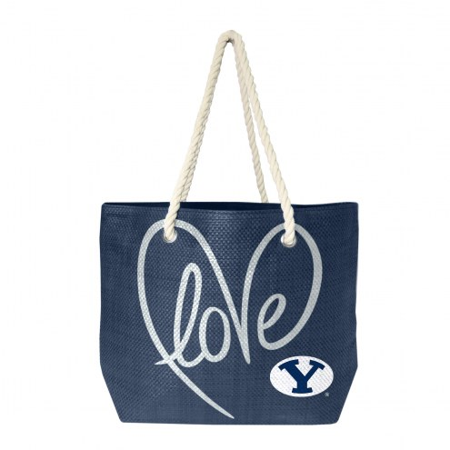 BYU Cougars Rope Tote