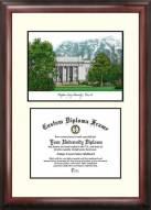BYU Cougars Scholar Diploma Frame