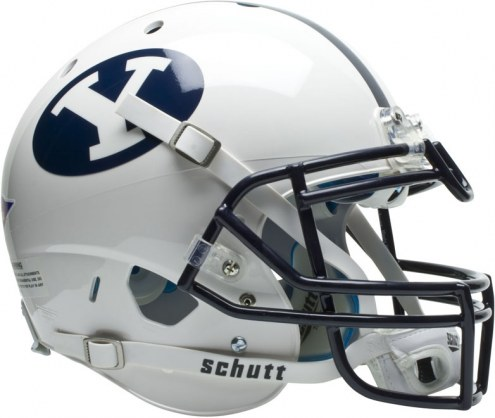 BYU Cougars Schutt XP Authentic Full Size Football Helmet