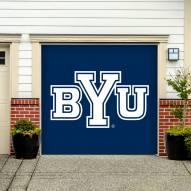 BYU Cougars Single Garage Door Banner