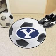 BYU Cougars Soccer Ball Mat