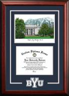 BYU Cougars Spirit Graduate Diploma Frame