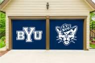 BYU Cougars Split Garage Door Banner