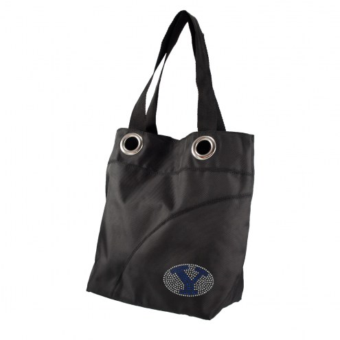 BYU Cougars Sport Noir Sheen Tote
