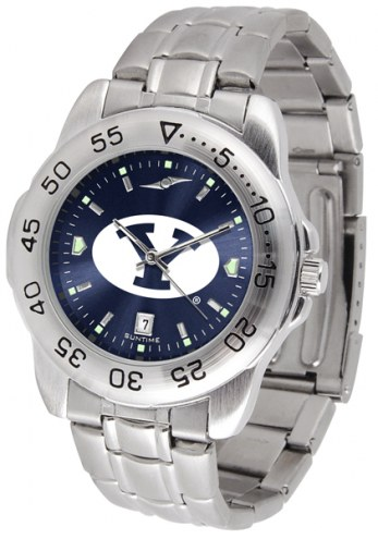 BYU Cougars Sport Steel AnoChrome Men's Watch