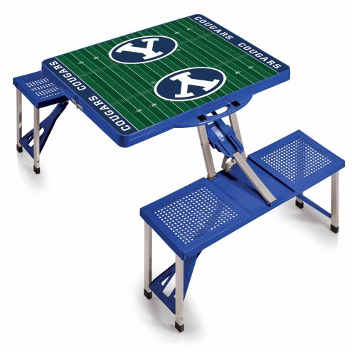 BYU Cougars Sports Folding Picnic Table