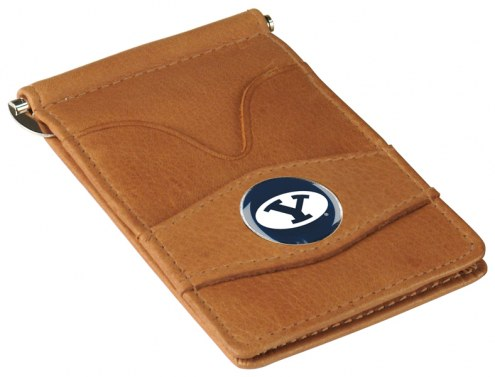 BYU Cougars Tan Player's Wallet