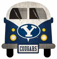 BYU Cougars Team Bus Sign