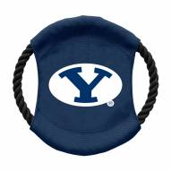 BYU Cougars Team Frisbee Dog Toy