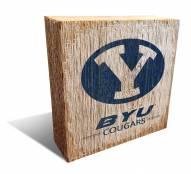 BYU Cougars Team Logo Block