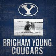 """BYU Cougars Team Name 10"""" x 10"""" Picture Frame"""