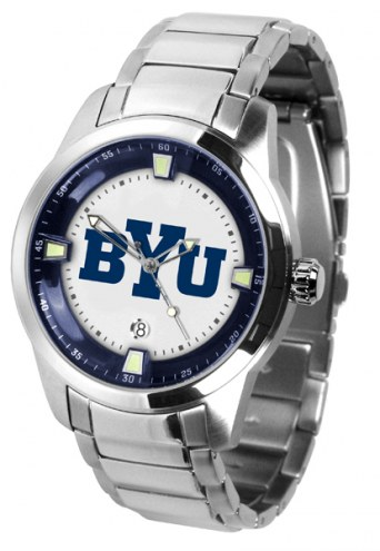 BYU Cougars Titan Steel Men's Watch