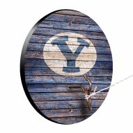 BYU Cougars Weathered Design Hook & Ring Game