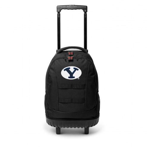 NCAA BYU Cougars Wheeled Backpack Tool Bag