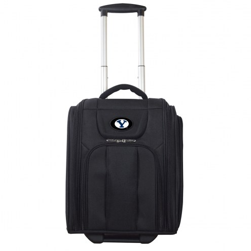 BYU Cougars Wheeled Business Tote Laptop Bag