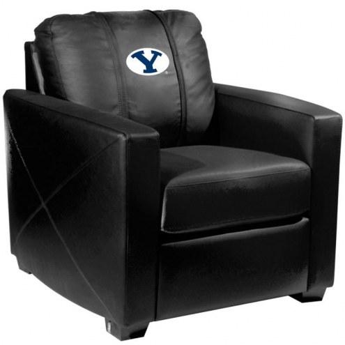 BYU Cougars XZipit Silver Club Chair