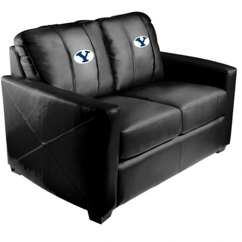BYU Cougars XZipit Silver Loveseat