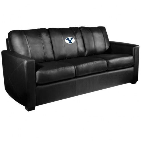 BYU Cougars XZipit Silver Sofa