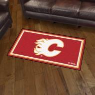 Calgary Flames 3' x 5' Area Rug