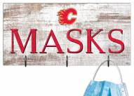 "Calgary Flames 6"" x 12"" Mask Holder"