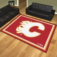Calgary Flames 8' x 10' Area Rug