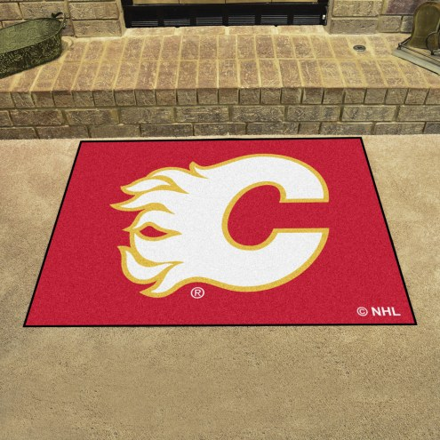 Calgary Flames All-Star Mat