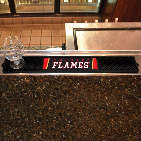 Calgary Flames Bar Mat