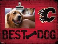 Calgary Flames Best Dog Clip Frame