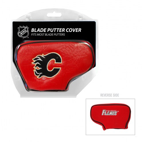 Calgary Flames Blade Putter Headcover