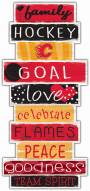 Calgary Flames Celebrations Stack Sign