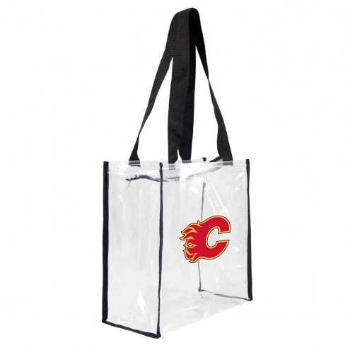 Calgary Flames Clear Square Stadium Tote