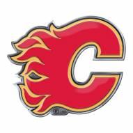 Calgary Flames Color Car Emblem