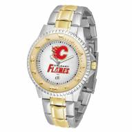 Calgary Flames Competitor Two-Tone Men's Watch