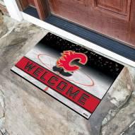 Calgary Flames Crumb Rubber Door Mat