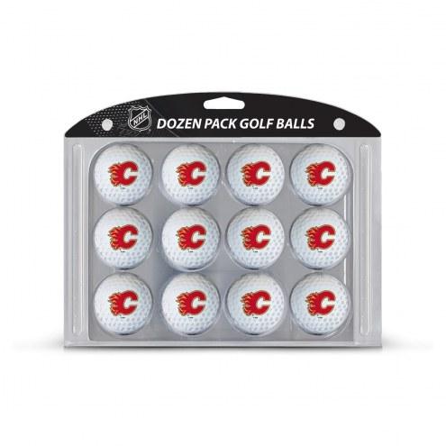Calgary Flames Dozen Golf Balls
