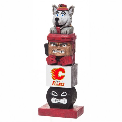 Calgary Flames Tiki Totem