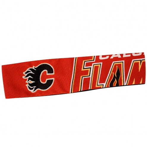 Calgary Flames FanBand Jersey Headband