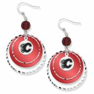 Calgary Flames Game Day Earrings