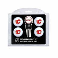 Calgary Flames Golf Ball Gift Set