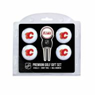 Calgary Flames Golf Ball Gift Set
