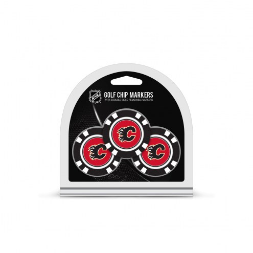 Calgary Flames Golf Chip Ball Markers