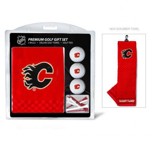 Calgary Flames Golf Gift Set