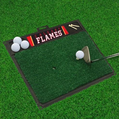 Calgary Flames Golf Hitting Mat