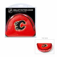 Calgary Flames Golf Mallet Putter Cover