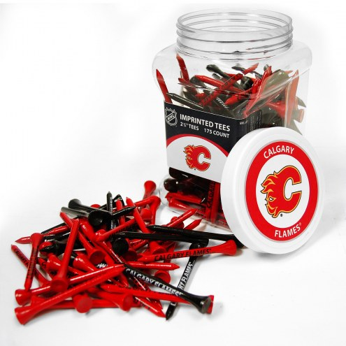 Calgary Flames 175 Golf Tee Jar