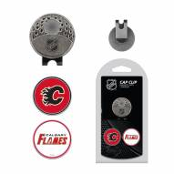 Calgary Flames Hat Clip & Marker Set