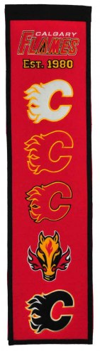 Calgary Flames Heritage Banner