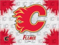 Calgary Flames Logo Canvas Print