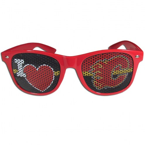 Calgary Flames I Heart Game Day Shades