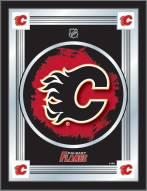 Calgary Flames Logo Mirror
